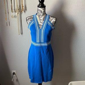 NWT 41 Hawthorn blue dress
